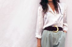 Shirt/Pants/Belt.