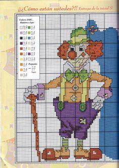 Clown Free Pattern