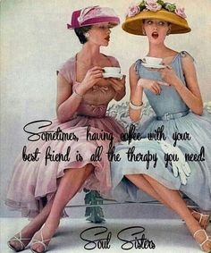 Coffee with your best friend....your sister!