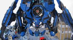 Relinquish Your Form to this Awesome Mass Effect Lego Reaper