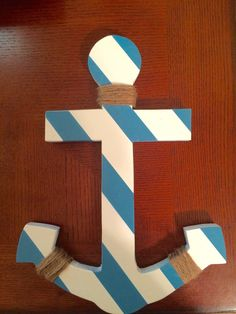 Wooden anchor decor Create A Board, Anchors, Projects To Try, Bathroom, Unique Jewelry, Creative, Handmade Gifts, Etsy, Ideas