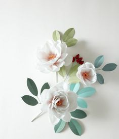 The Exquisite Book of Paper Flowers - #DIY paper blooms