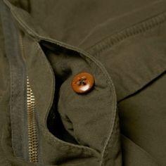 Paul Smith Washed Canvas Shirt Jacket (Olive)
