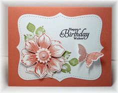www.stampingwithlinda.com Linda Bauwin.  Your CARD-iologist Helping you create cards from the heart Check out my stamp of the month kits