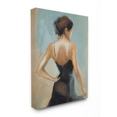 The Dancer Portrait Stretched Canvas Wall Art