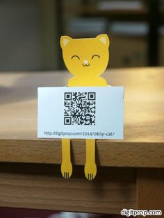 QR Cat | Digitprop - Paper design