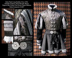 Image result for mens early tudor doublet