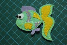 игрушки из фетра. Морские обитатели Felt Fish, Dinosaur Stuffed Animal, Toys, Crafts, Animals, Fluffy Pillows, Sensory Book, Felt, Group