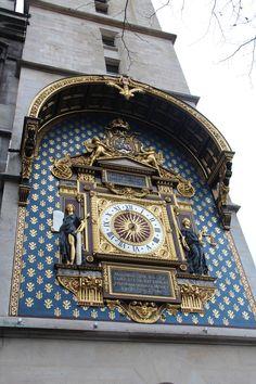 Oldest clock in Paris, Palais de Justice - Review of Palais de justice de Paris, Paris, France - TripAdvisor