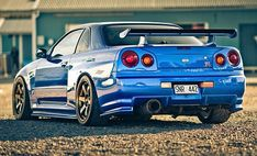 Nissan Skyline, still love the older body styles