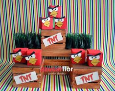 Angry Birds Birthday Party Ideas | Photo 31 of 34 | Catch My Party