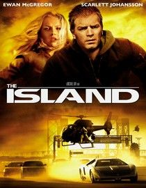 "Michael Bay's stylish sci-fi thriller stars Ewan McGregor and Scarlett Johansson as members of a strictly regulated indoor futuristic colony who hope to win the lottery, a contest in which the grand prize is a trip to a utopian island. It's reportedly the last uncontaminated place on Earth. But a startling discovery about the true nature of ""the Island"" -- and their very existence -- leads the two to stage a desperate escape to the outside world."