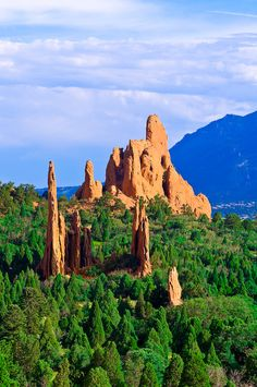 Garden of the Gods, Colorado Springs, Colorado.  Go to www.YourTravelVideos.com or just click on photo for home videos and much more on sites like this.
