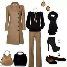 Work outfit - the flats...