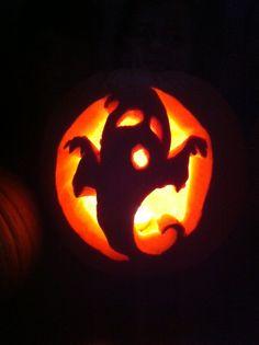 Emily's spooky pumpkin