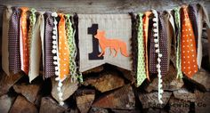 WOODLAND FOX Camping Hunting Tribal Birthday by RawEdgeSewingCo