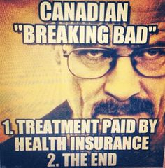 At least the American healthcare system makes it more interesting ;)