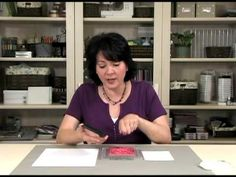How To Do It: Background Stamps - with Gina K, pinned by Colleen Hastings Independent Stampin' UP! Demonstrator.