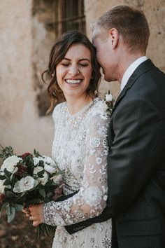 soft embellishment | Tabitha Gown from BHLDN | photo via Autumn Nicole Photo
