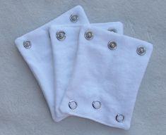 ONESIE EXTENDERS. Save money by adding a size to your favorite onesies. $10.95, via Etsy.