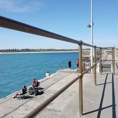 #warrnambool #breakwater #seaside #fishing #summer by sea_tractor_jim