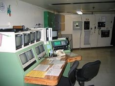 The control room of the Haunted Mansion in Disneyland: | This Is What Disney's Haunted Mansion Looks Like Behind TheScenes