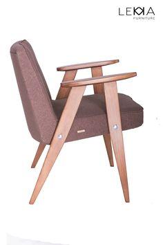 Fotel PRL proj. J. Chierowski typ: 366. Data produkcji: 1962 r. Wnętrze. Armchiar designed by J.Chierowski. Midcentury design. Interior. 60's