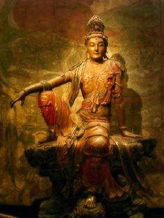 Buddha Figures, Vajrayana Buddhism, Buddhist Art, Galaxy Wallpaper, Girl Photography, Ethereal, Furniture Decor, Sculpture Art, Tibet