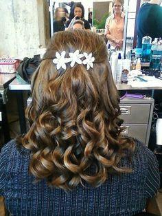 Bridesmaid hair I did :)