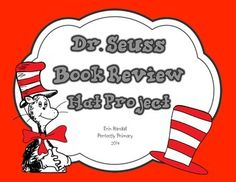 How many classrooms across America are challenged to assign kid-created Dr. Seuss hats as part of Read Across America day? To make the task a bit more in line with our Common Core curriculum, I embedded our book review writing unit into the hat, and created a hat template for the students to write a review of their favorite Dr.