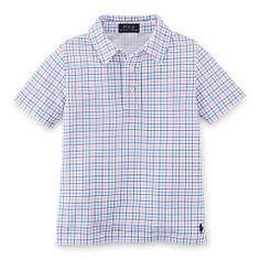 Featherweight Cotton Mesh Polo - Boys 2-7 Polo Shirts - RalphLauren.com