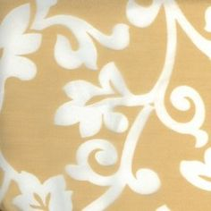 Champagne Palazzo Scroll (over white poly) Rental Linen  #PartyMosaic