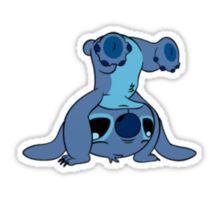 Cute Stitch upside down Sticker