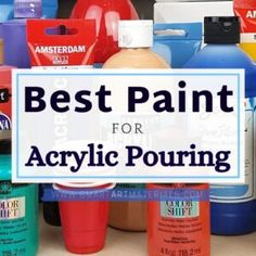 How to Varnish Pour Painting - TOP 4 Finishes from Spray Varnish to Epoxy Resin – Smart Art Materials Acrylic Pouring Techniques, Acrylic Pouring Art, Pour Painting, Painting Tips, Watercolor Painting, Top Paintings, Amsterdam, Acrylic Painting For Beginners, Paint Brands