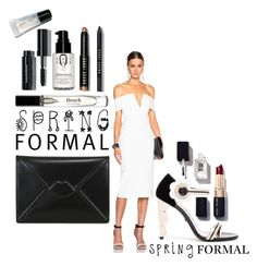 """""""2016 spring formal"""" by vaughnroyal ❤ liked on Polyvore featuring Nicholas, Lulu Guinness and Bobbi Brown Cosmetics"""