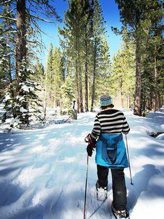 Snowshoeing in North Lake Tahoe