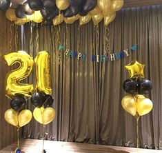 21st Birthday, Birthday Ideas, Baloon Garland, Party, Photography, Home Decor, Globes, Photograph, Decoration Home