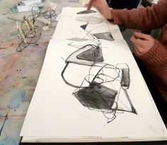 sculpture + drawing