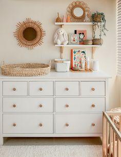 Baby Nursery Sets, Baby Girl Nursery Decor, Baby Room Decor, Baby Boy Nurseries, Ikea Baby Nursery, Ikea Baby Room, Giraffe Nursery, Unisex Baby Room, Unisex Nursery Ideas