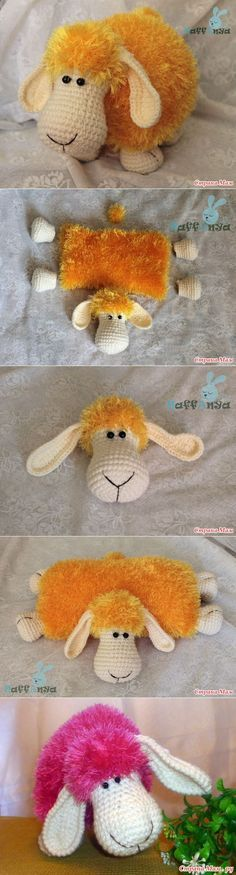 Sheep pillow.