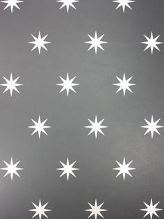 Twinkle twinkle little star. Constellations dance upon this black-gray wallcovering, adding a splending light show. For a more natural and dramatic light show, hang a Decorpro Nuvo or Ark wall sconce to set the mood on a starry night... (Shown: Osborne & Little Coronata Star)