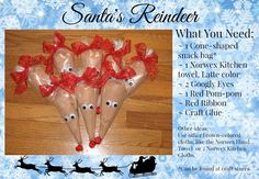 Santa's Reindeer Norwex Christmas Gift Idea Judy Grinder Independent Norwex Consultant www.judyg.norwex.biz