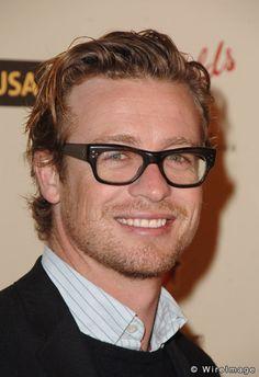 Simon Baker--- I also like Australian men, I guess.  :)