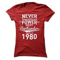 Never Underestimate The Power of Bartender T Shirt, Hoodie, Sweatshirt