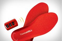 ThermaCell Rechargeable Heated Insole!