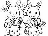 sylvanian families Colouring Pages (page 2)
