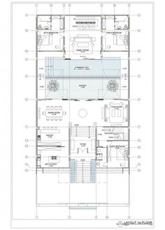 Image 47 of 51 from gallery of Static House / TWS & Partners. layout plan first floor House Layouts, House Floor Plans, Jakarta, Storage Spaces, Home Projects, Interior Architecture, Home Improvement, Home And Garden, House Design