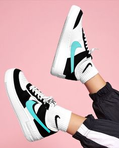 The Nike Air Force 1 Shadow colourways just keep on getting better. Zapatillas Nike Air Force, Tenis Nike Air, Nike Af1, Nike Air Jordan, Jordan 1, Jordan Shoes Girls, Girls Shoes, Shoes Women, Cute Sneakers