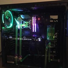 Check this awesome watercooled rig from @pc_stuff_1. It features:  I5 6600k  Evga Gtx 1070 SC  Asus Z270f Strix  16GB Gskill Trident Z  500W System Power 8 Bequiet  250GB SSD 850 Evo  2000GB Samsung HDD  3x Thermaltake Ring 14  Thermaltake View 31TG RGB  EKWB Supramacy EVO  Primochill Revolver SX  Alphacool Nexxxos ST30 280mm  Alphacool Eisbecher 150mm  Remember to feature: DM your pix OR use #buildagamingPC