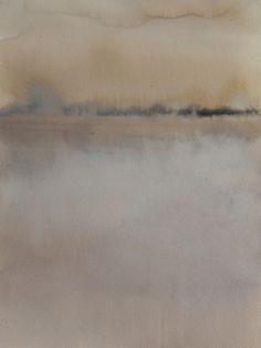 """Koen Lybaert; Watercolor 2013 Painting """"Shizukuishi"""""""